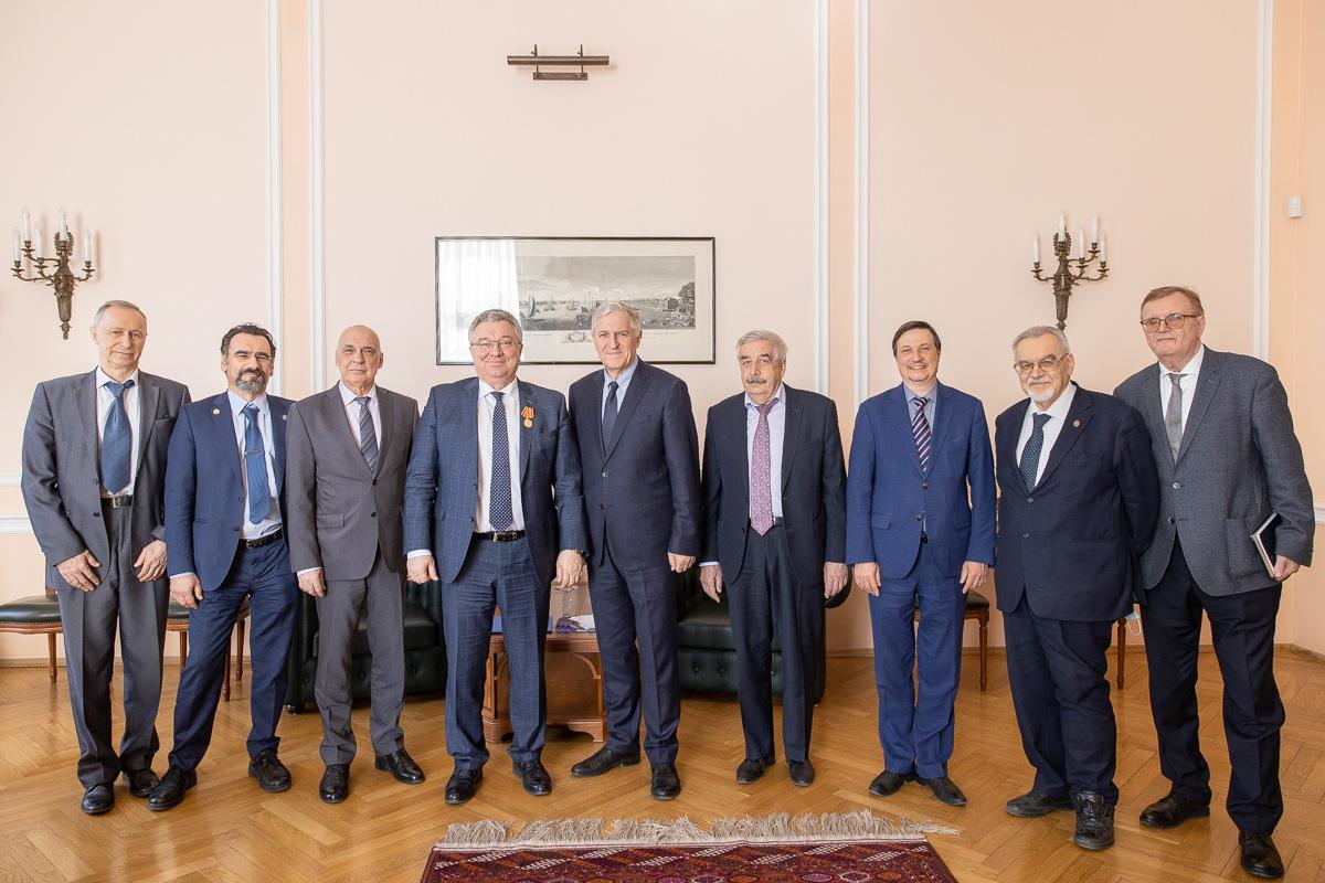 Ректор СПбПУ Андрей Рудской удостоен ведомственной награды ФСТЭК России